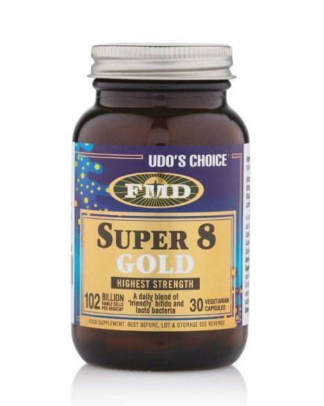 Udo's Choice® Super 8 Gold Microbiotic - 30 Caps