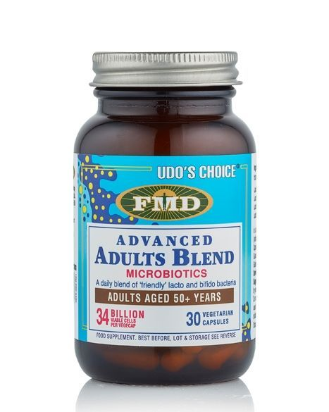 Udo's Choice® Advanced Adult's Blend Microbiotic - 30 Caps