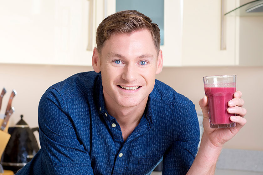 David Gillick's Breakfast Smoothie with Udo's Oil